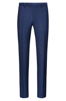 HUGO BOSS Pantalon Homme Extra Slim Fit en laine vierge tktOmd