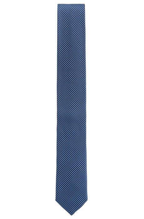 Tie in pure silk jacquard with micro pattern HUGO BOSS Sneakernews 2OPbP48m