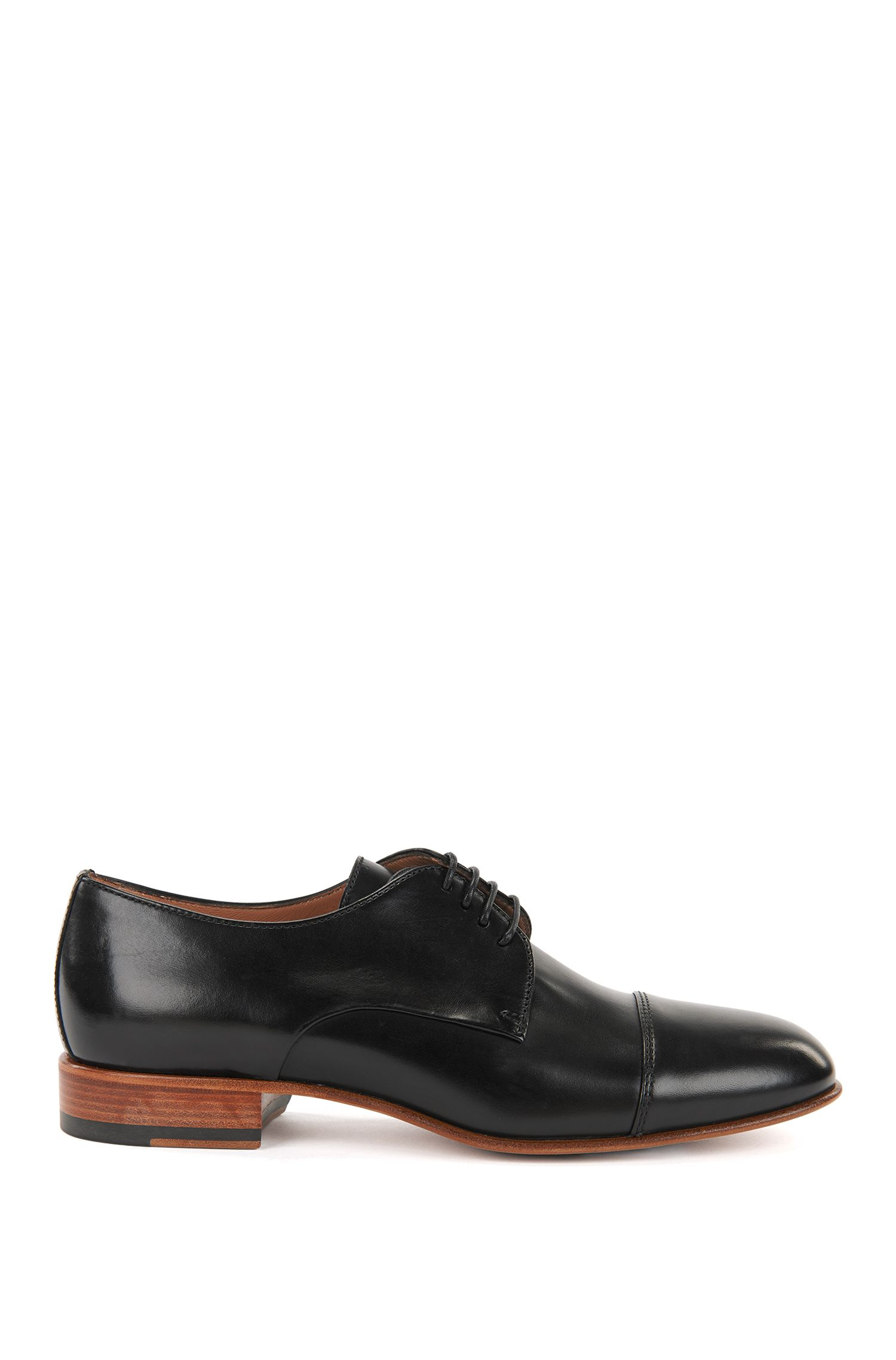 Derby shoes in Italian calf leather