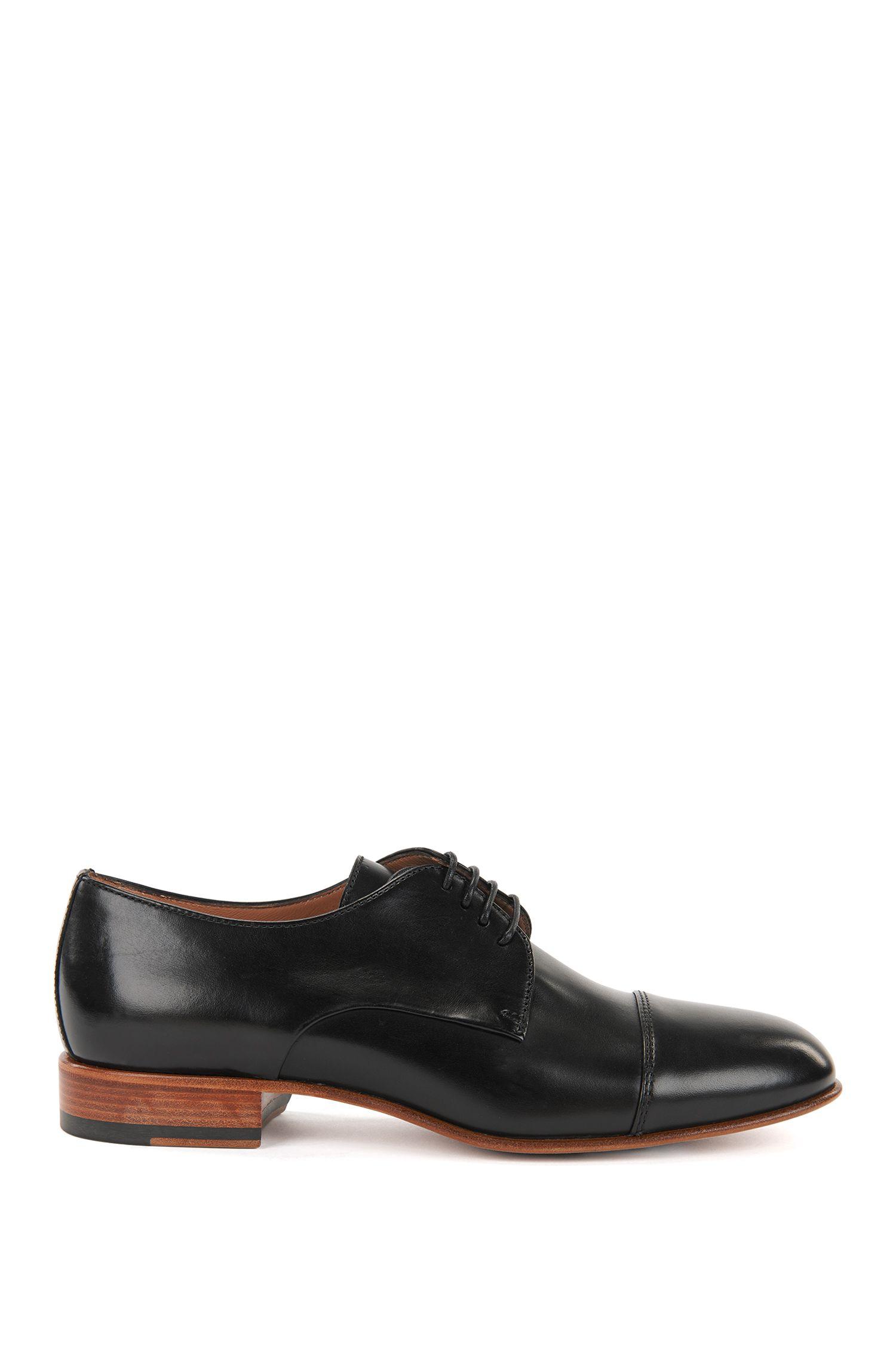 Zapatos derby en piel de becerro italiana