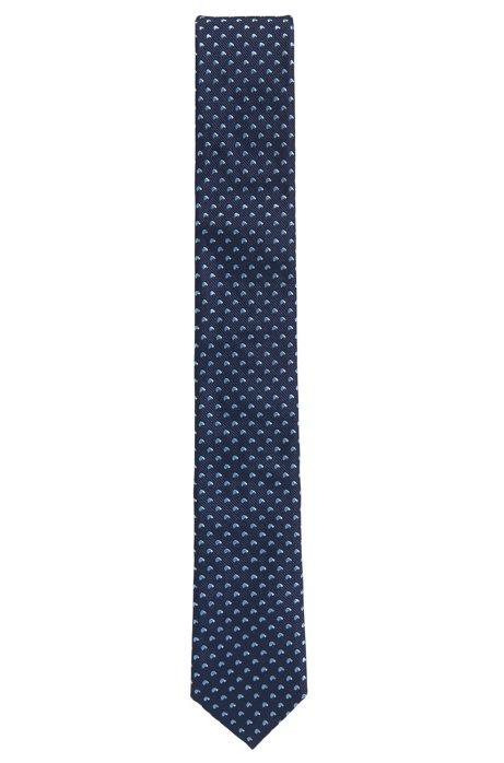 Cravate Tissée Jacquard En Soie Patron De Fils Teints JpdToYfY1V