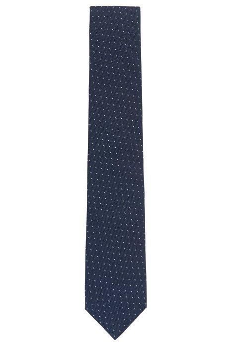 Silk jacquard tie made in Italy BOSS 42yqQEc