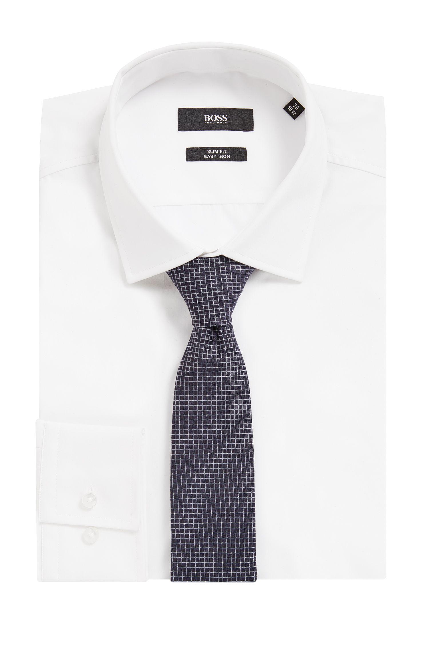 Gemusterte Krawatte aus wasserabweisender Seide