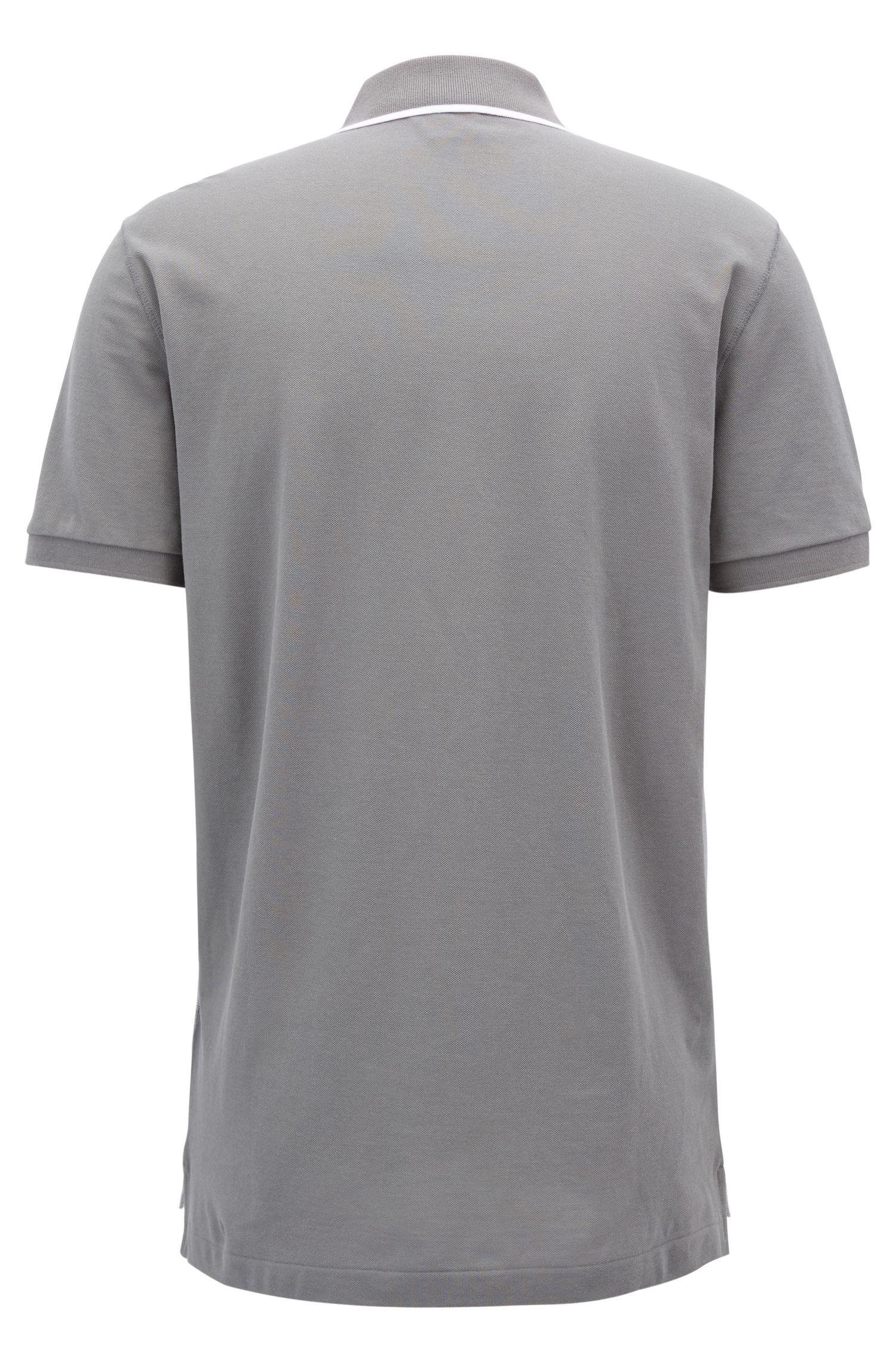 Poloshirt aus feiner Oxford-Baumwolle