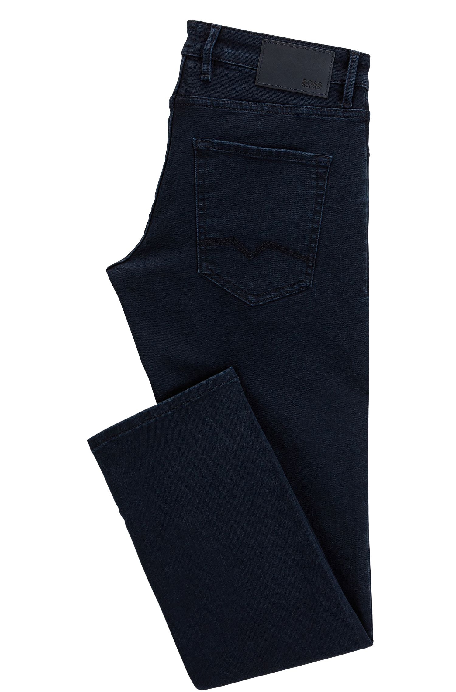 Jean bleu Regular Fit en denim stretch confortable