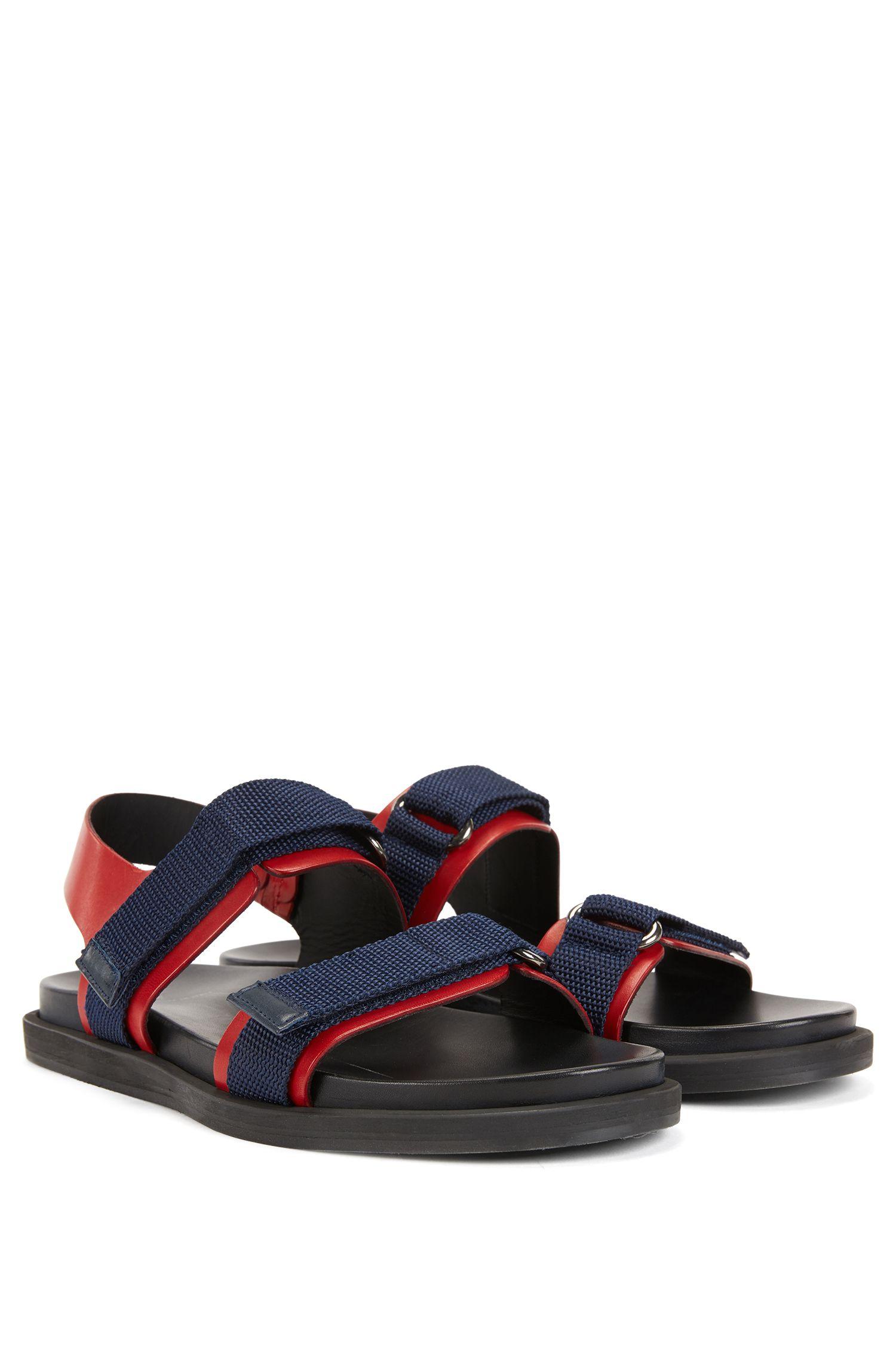 Sandalen aus italienischem Leder mit EVA-Sohle
