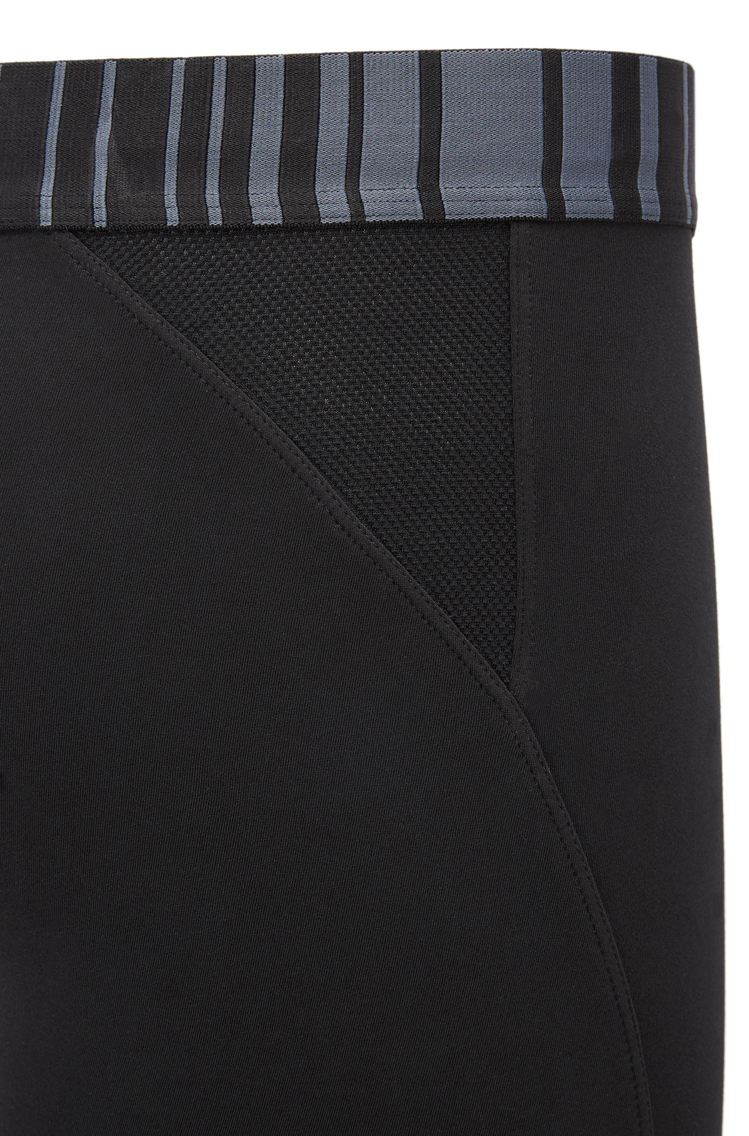 Pantaloncini da ciclista in tessuto tecnico elasticizzato con COOLMAX®