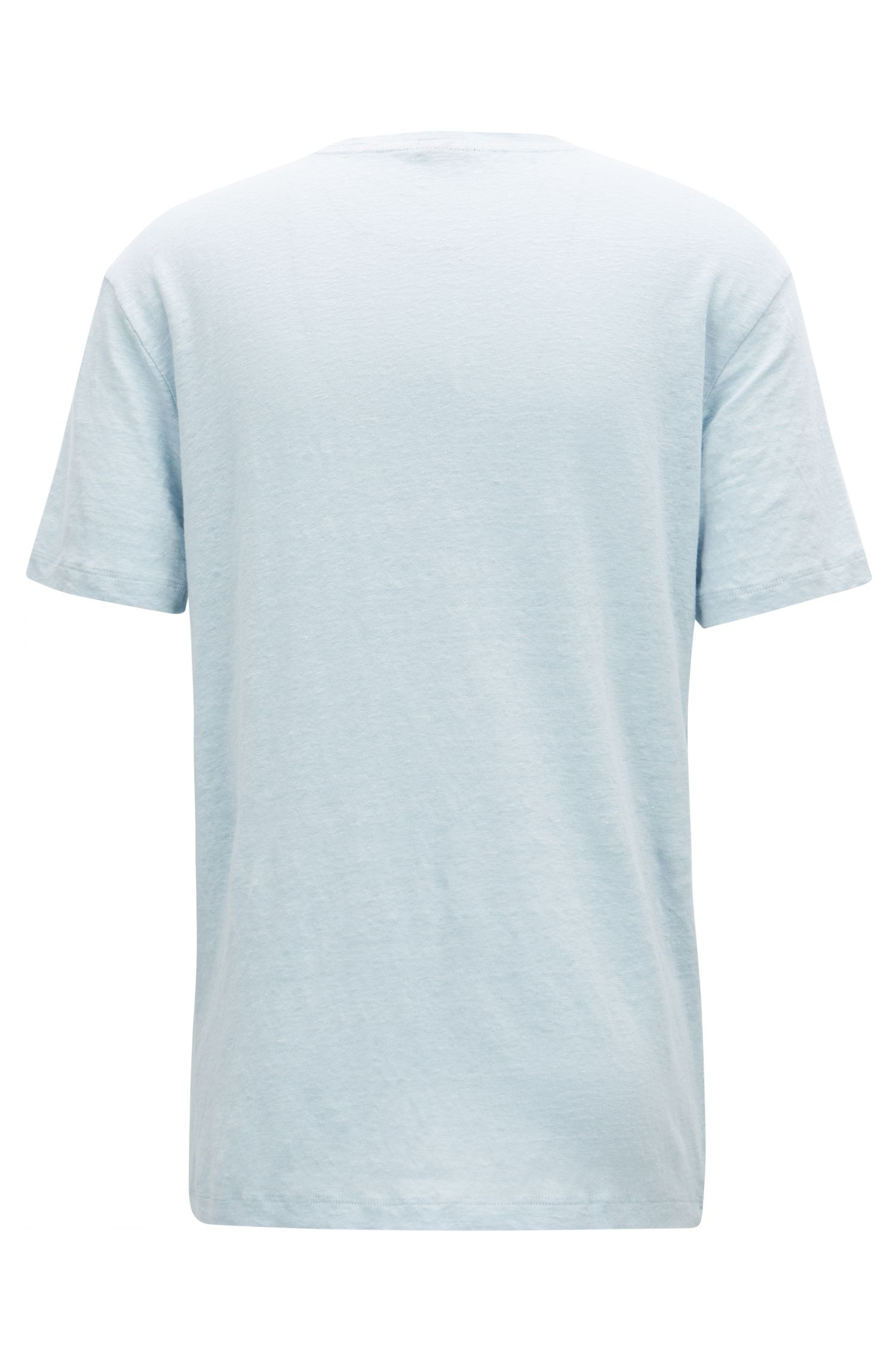 T-Shirt aus Single Jersey mit Rundhalsausschnitt