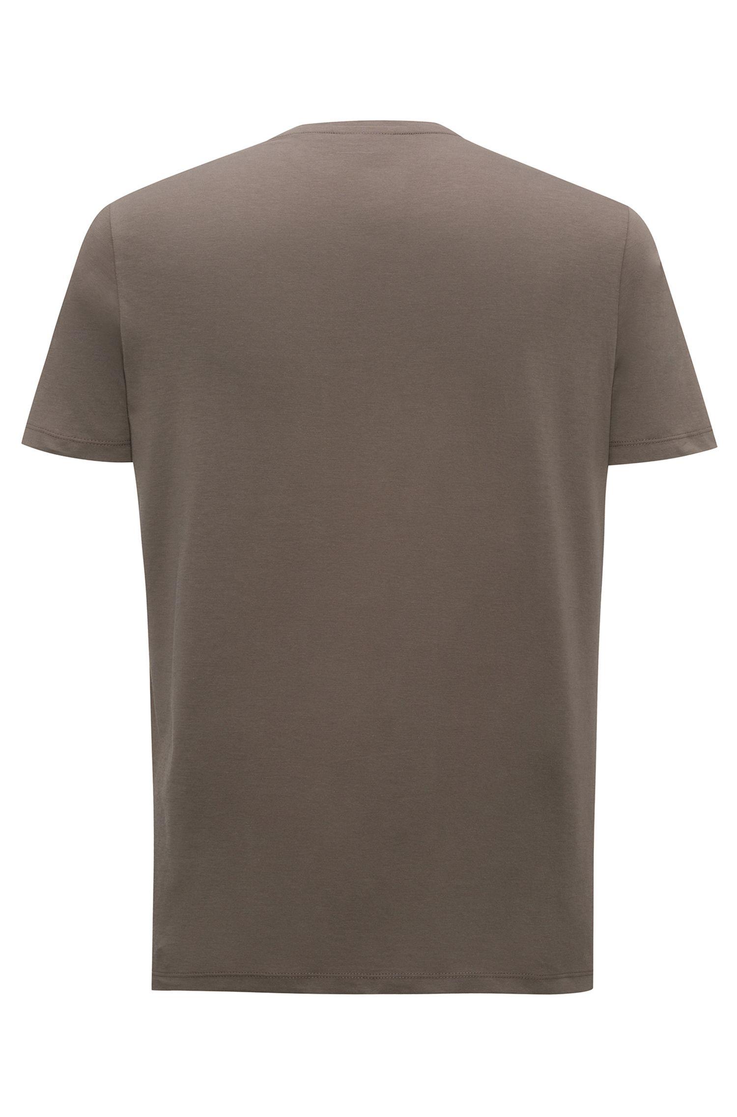 Relaxed-fit logo-T-shirt van katoenen jersey
