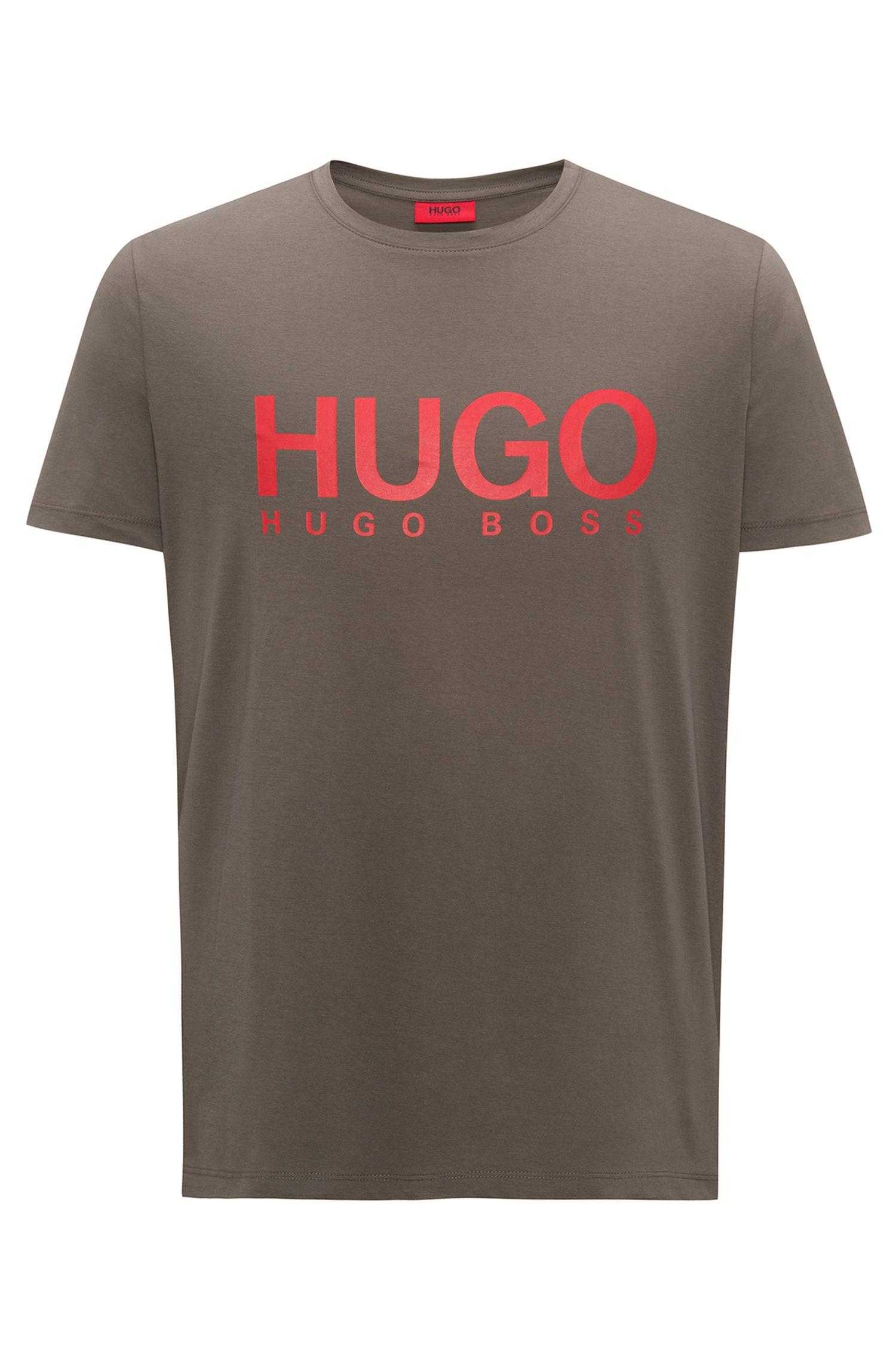 T-shirt Relaxed Fit en jersey de coton à logo