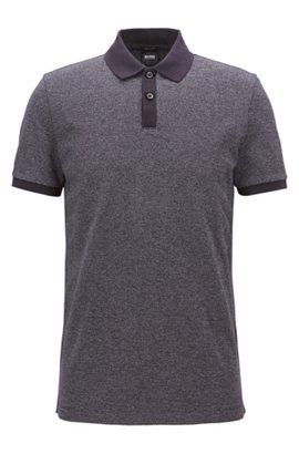 Polo en coton à micro-motif bicolore109.00BOSS Offre Pas Cher e9eot