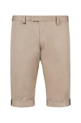 HUGO BOSS Short Regular Fit en coton stretch structuré HDAzbnURJ