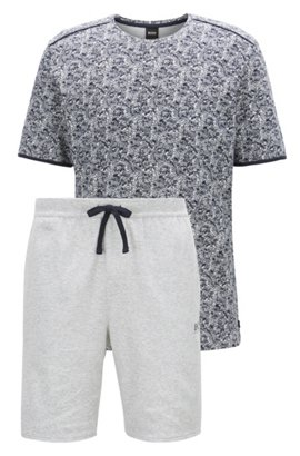 Hot Sale Sale Online Regular-fit loungewear T-shirt in stretch cotton BOSS Cheap Sale Best Seller Free Shipping Inexpensive Buy Cheap Best Sale Buy Cheap Low Price Fee Shipping uaI7vs5