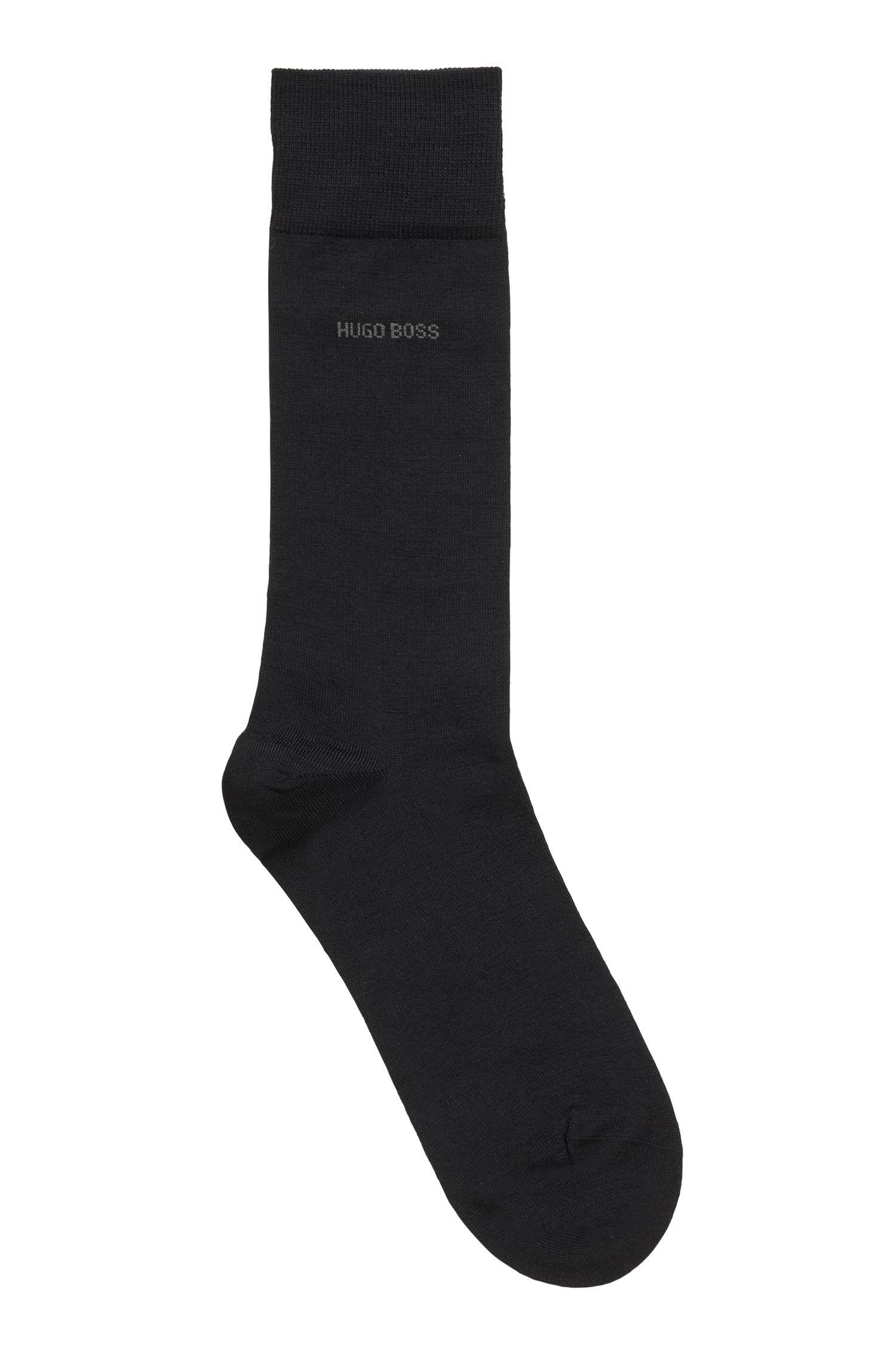 Socken aus Schurwoll-Mix mit Naturetexx® Finish, Schwarz