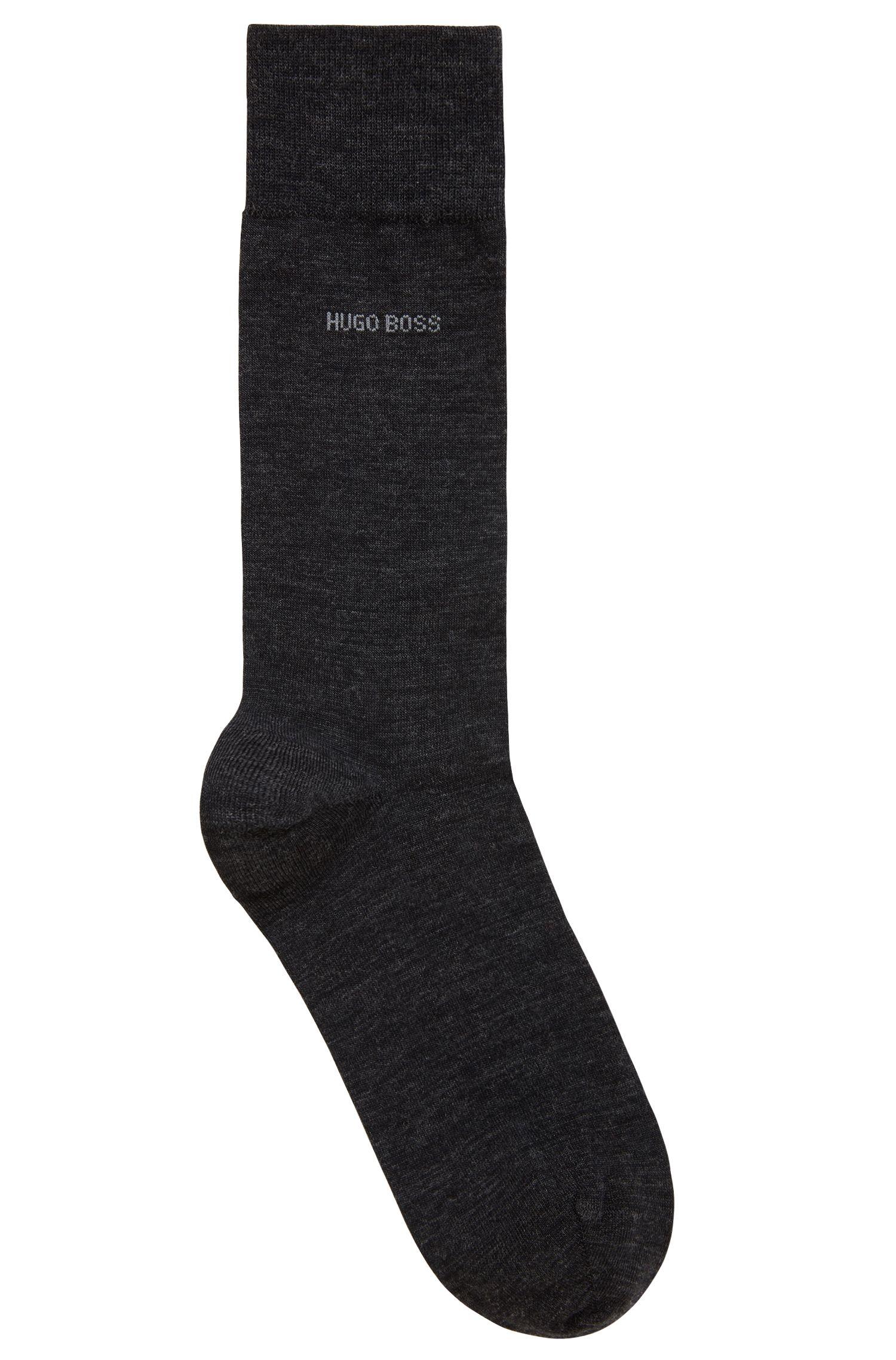 Socken aus Schurwoll-Mix mit Naturetexx® Finish, Anthrazit
