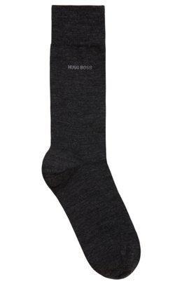 Wool-blend socks with Naturetexx® finishing, Dark Grey