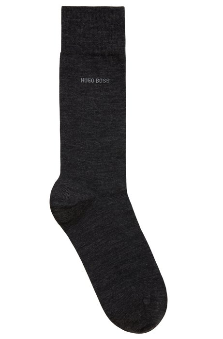Wool-blend socks with Naturetexx® finishing, Dark Grey