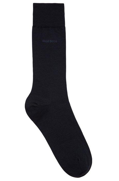Wool-blend socks with Naturetexx® finishing, Dark Blue