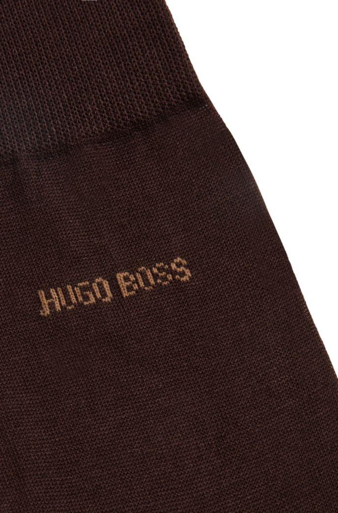 Fil d'Ecosse socks in mercerised Egyptian cotton
