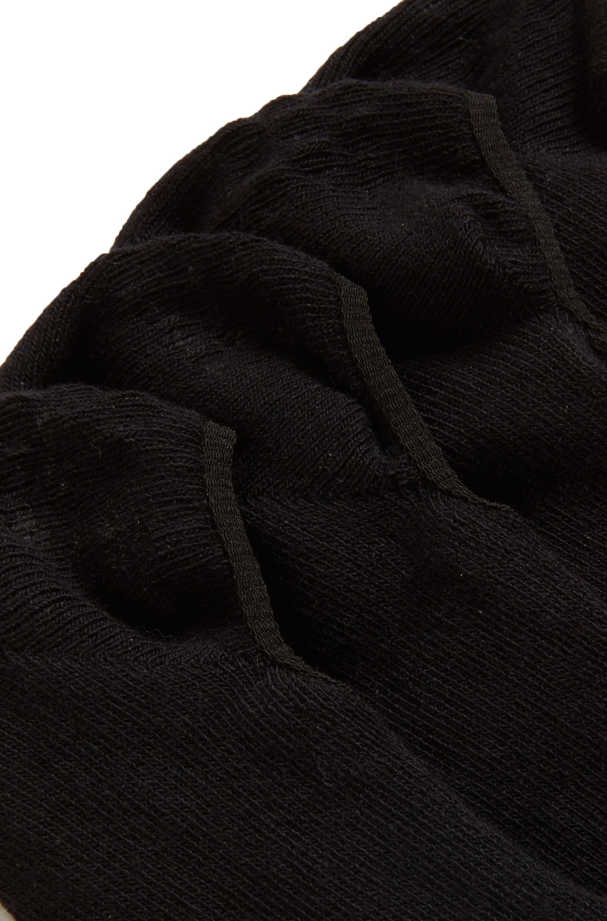 Two-pack of invisible socks in a cotton blend