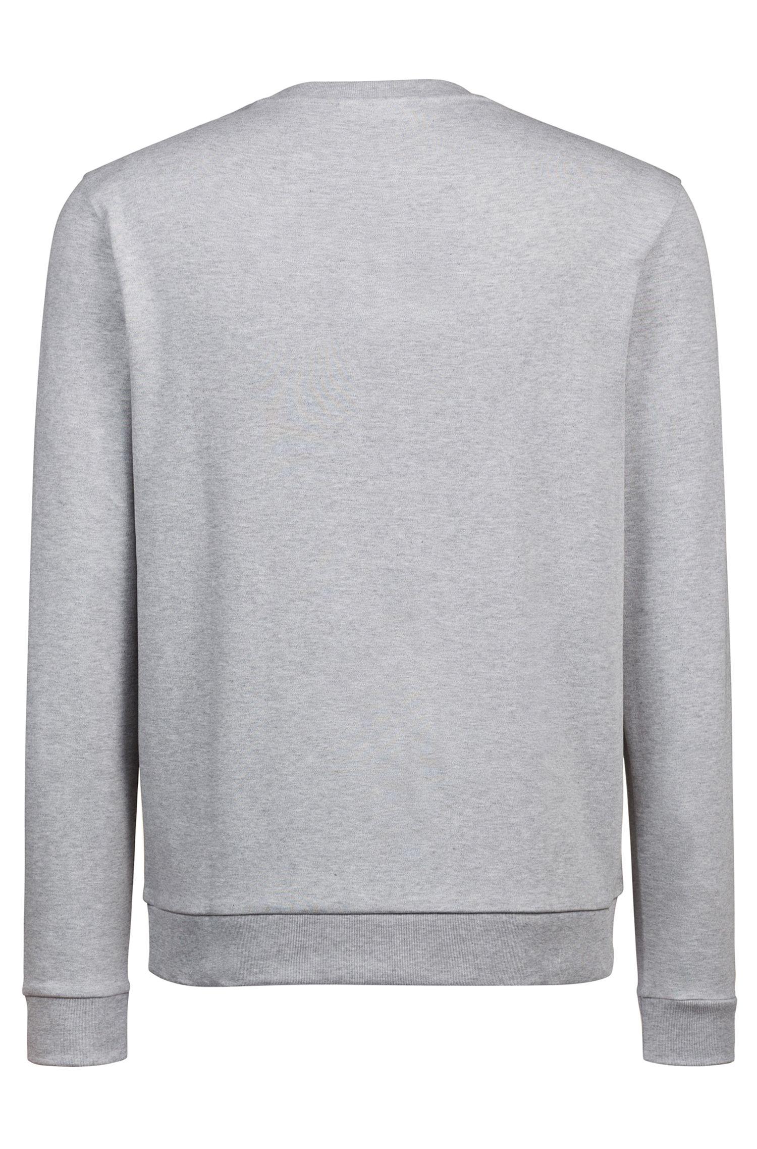 Hugo Boss - Sweatshirt aus  Interlock-Baumwolle mit Reversed-Logo - 4