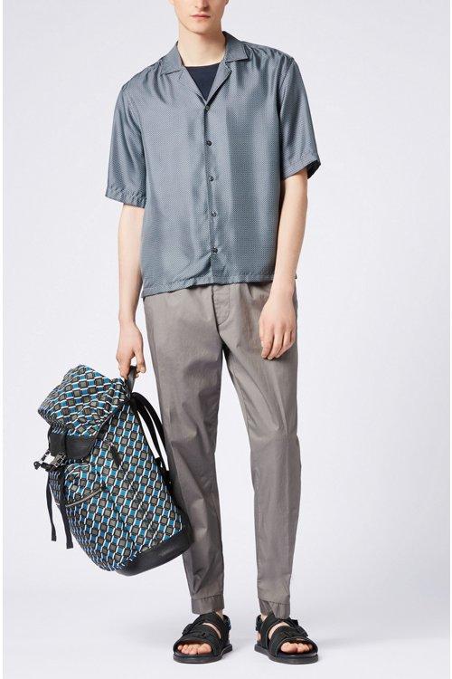 Hugo Boss - Mercerised-cotton T-shirt with contrast collar band - 2