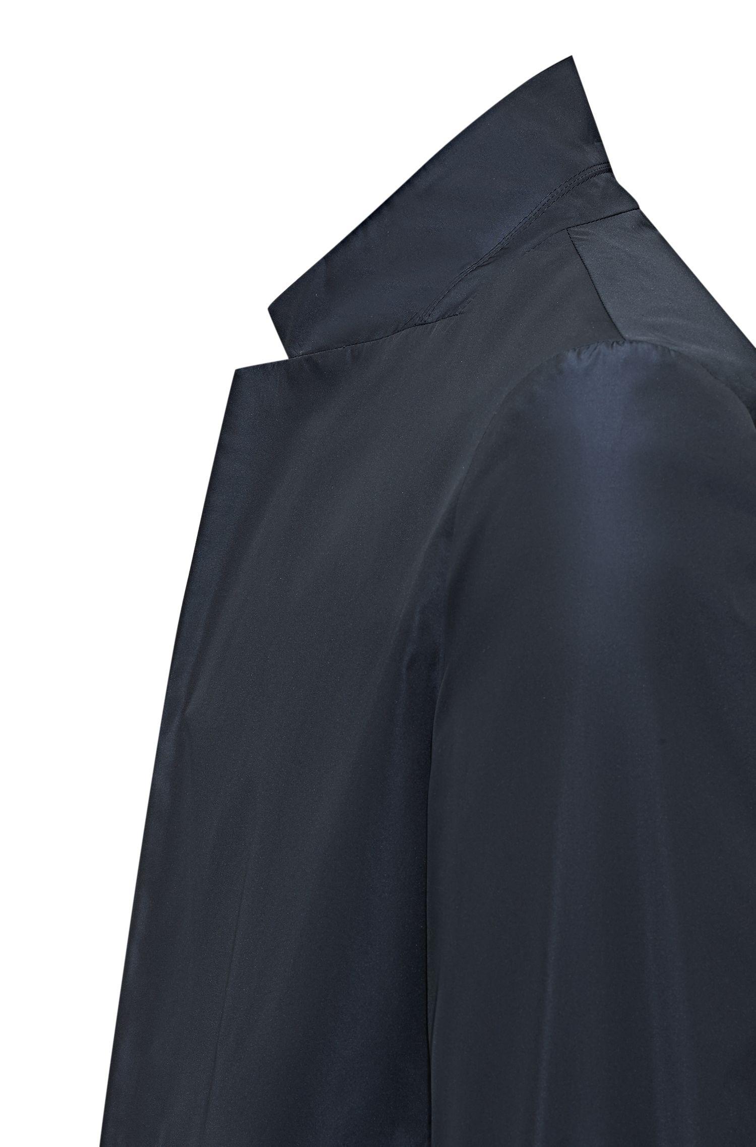 Blazer pliable, en tissu technique réversible, Bleu foncé