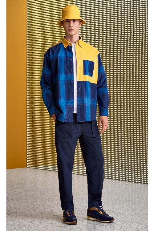 Hugo Boss - Kariertes Relaxed-Fit Hemd aus reiner Baumwolle mit gummiertem Einsatz - 4