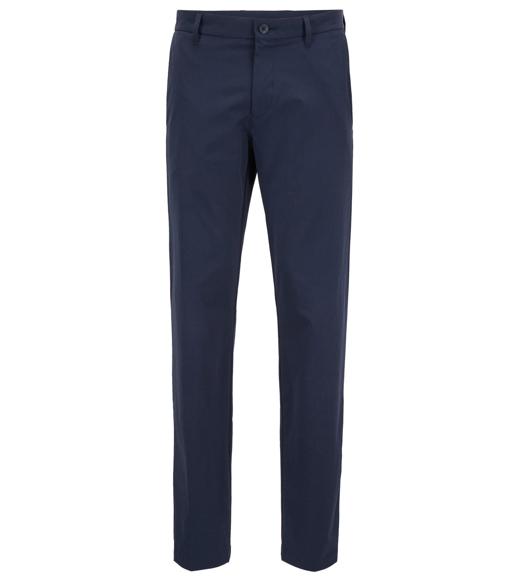 Extra Slim-Fit Hose aus wasserabweisendem Stretch-Gewebe, Dunkelblau