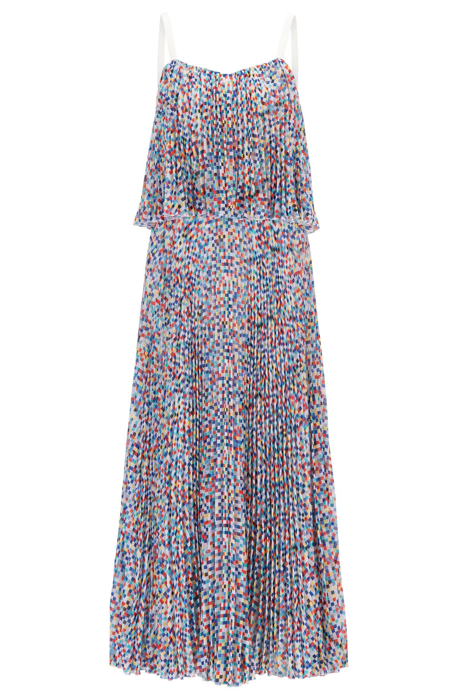 Robe à plusieurs épaisseurs et à jupe plissée Collection Gallery
