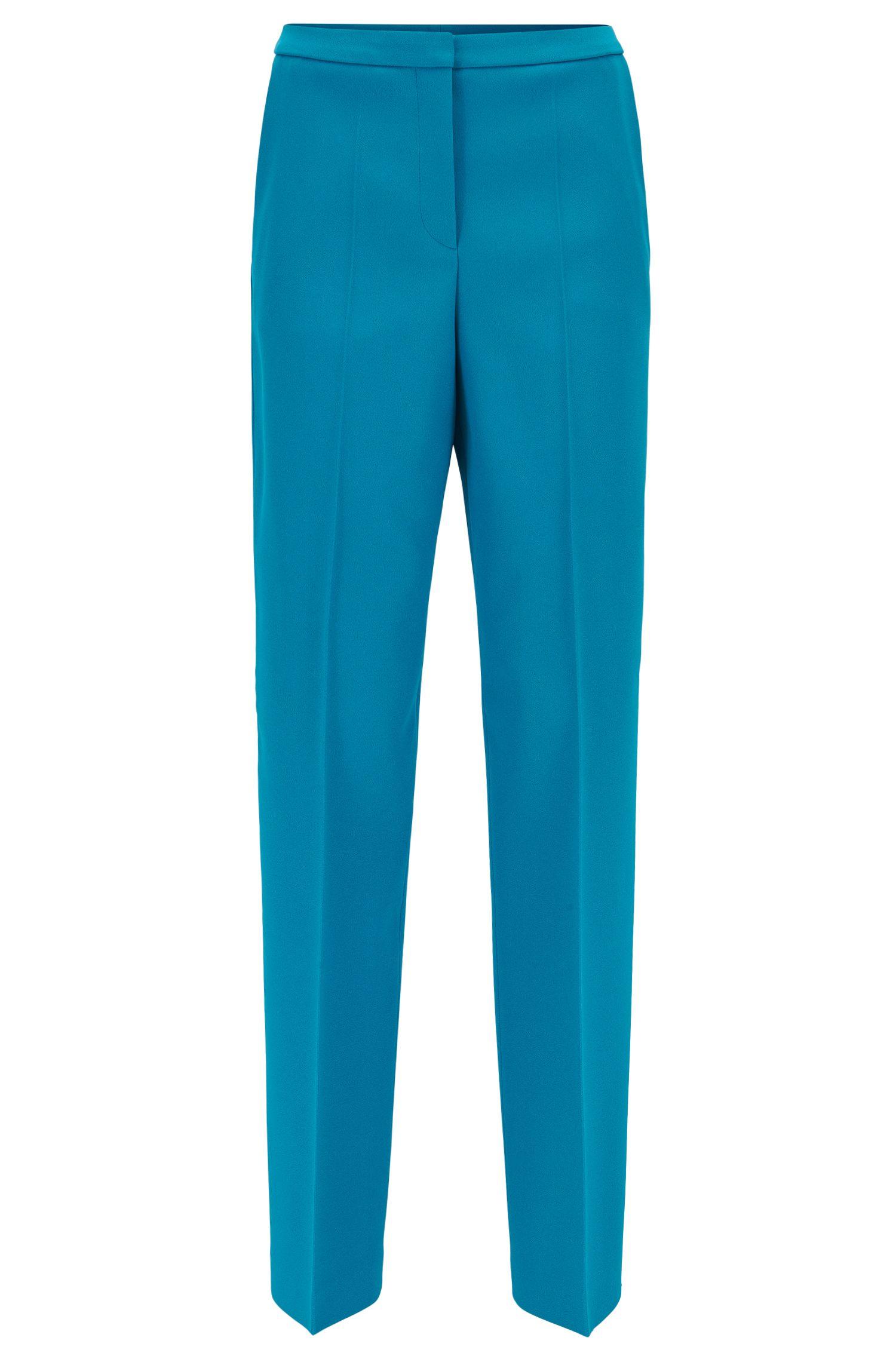 Pantalones regular fit con pernera ancha de la Colección Gallery