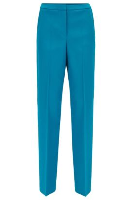 Gallery Collection regular-fit wide-leg trousers , Blue