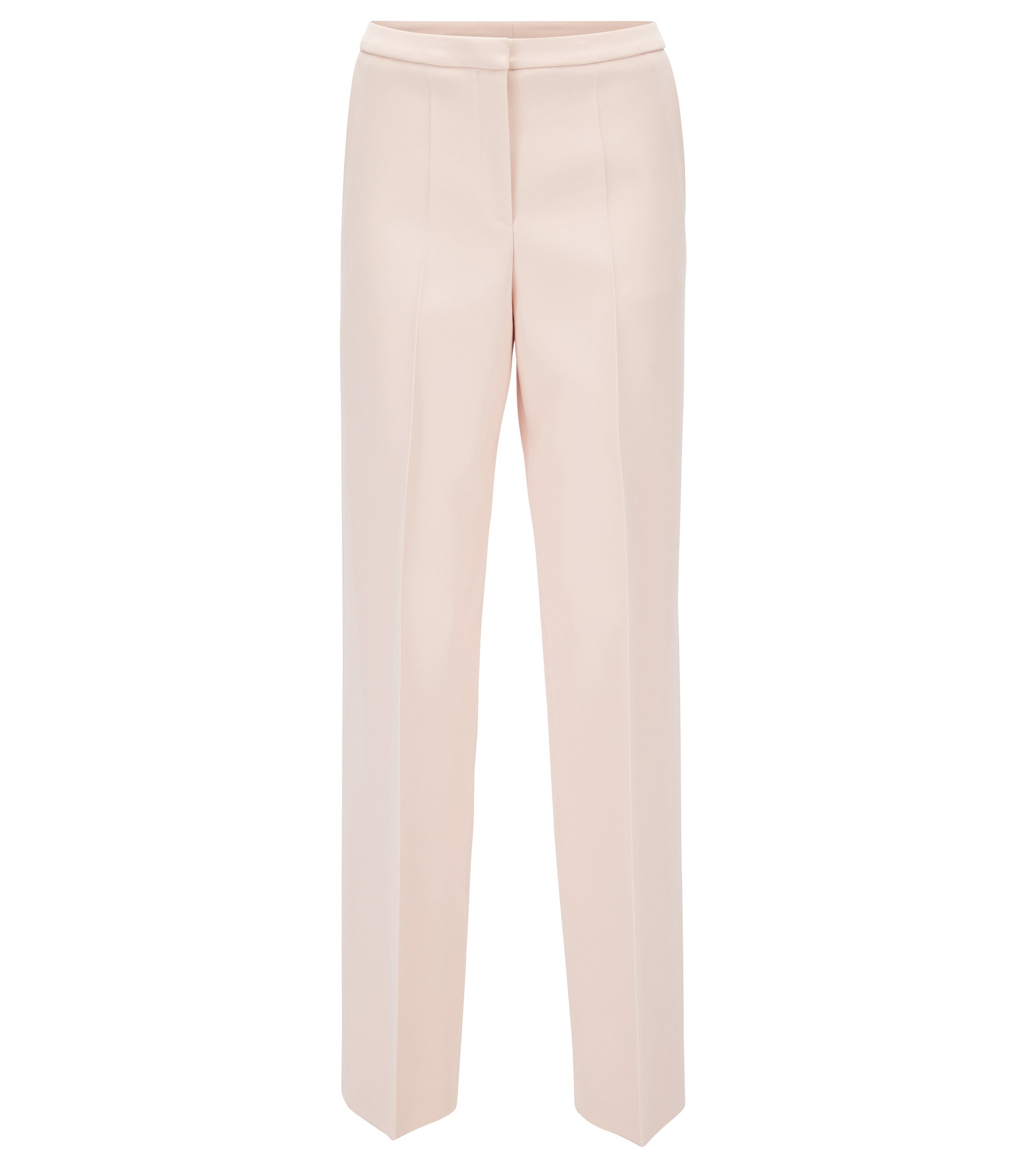 Gallery Collection regular-fit wide-leg trousers , light pink