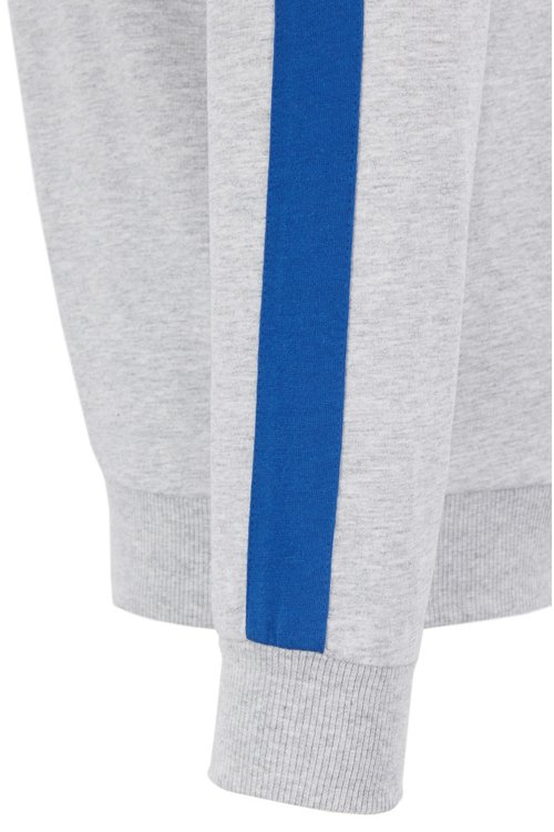 Hugo Boss - Loungewear sweatshirt in French terry with contrast accents - 2