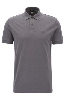 Polo Relaxed Fit en jersey de coton chiné99.95BOSS Meilleur Choix TktJQ