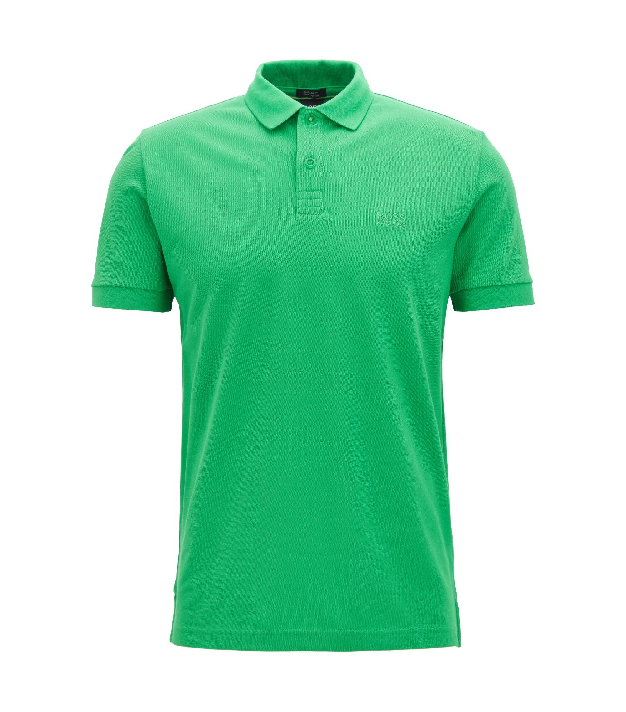 Polo in cotone Pima, Verde