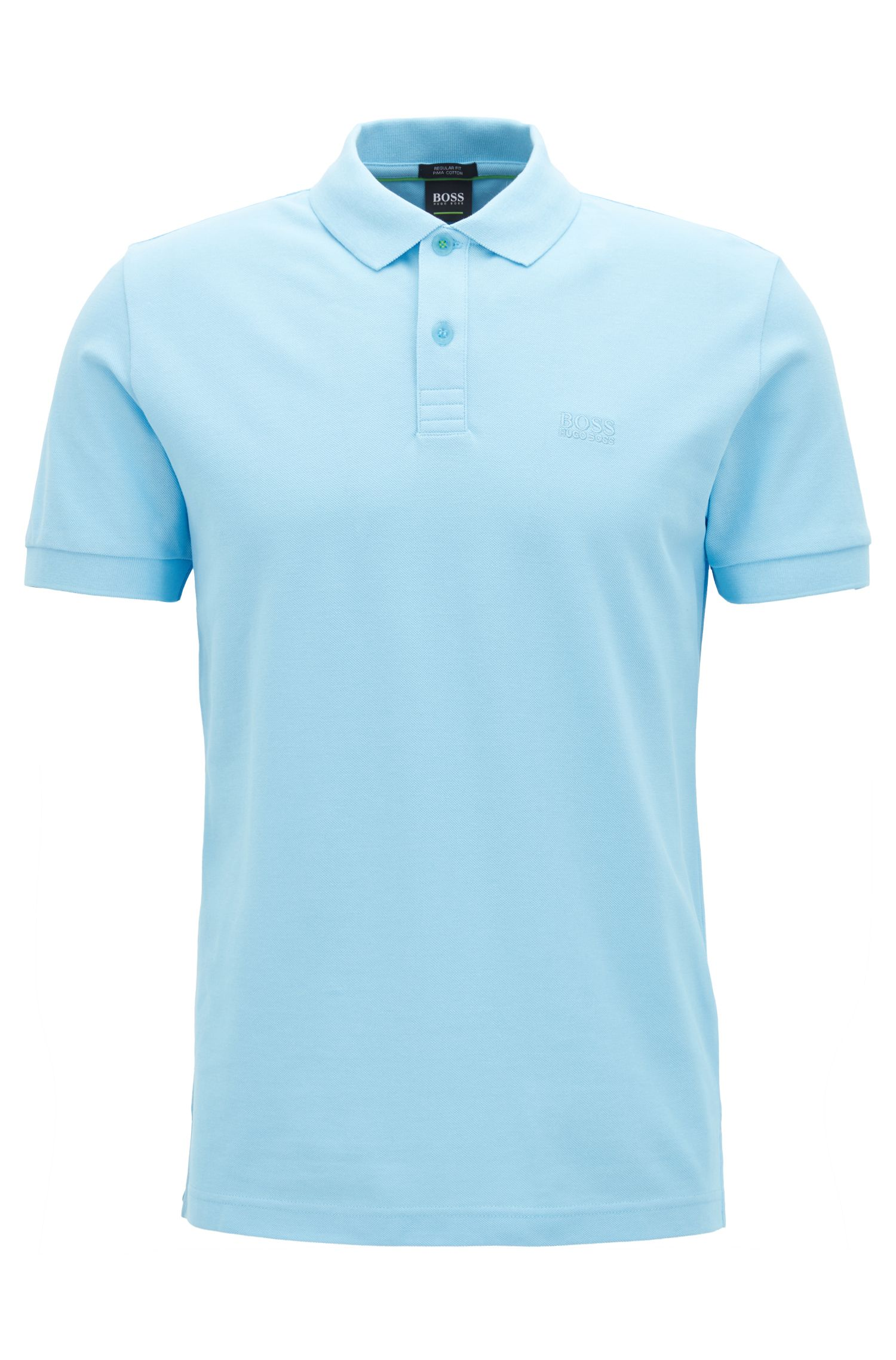 Polo shirt in Pima cotton