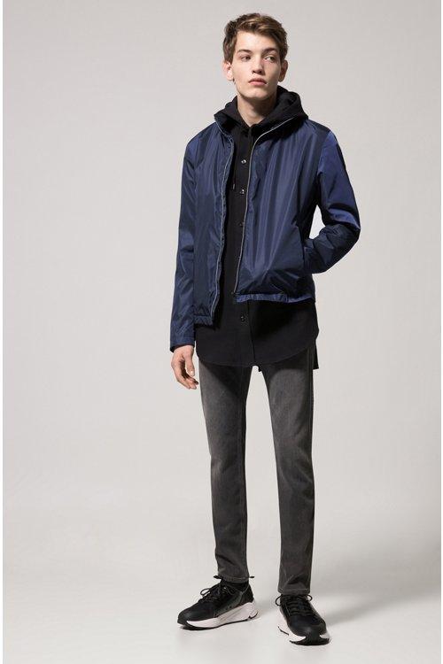 Hugo Boss - Slim-fit jeans in mid-grey stretch denim - 2