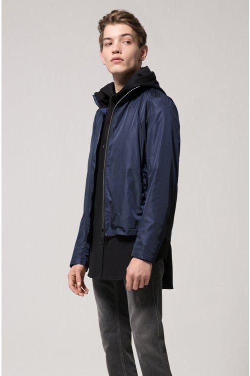 Hugo Boss - Slim-fit jeans in mid-grey stretch denim - 3