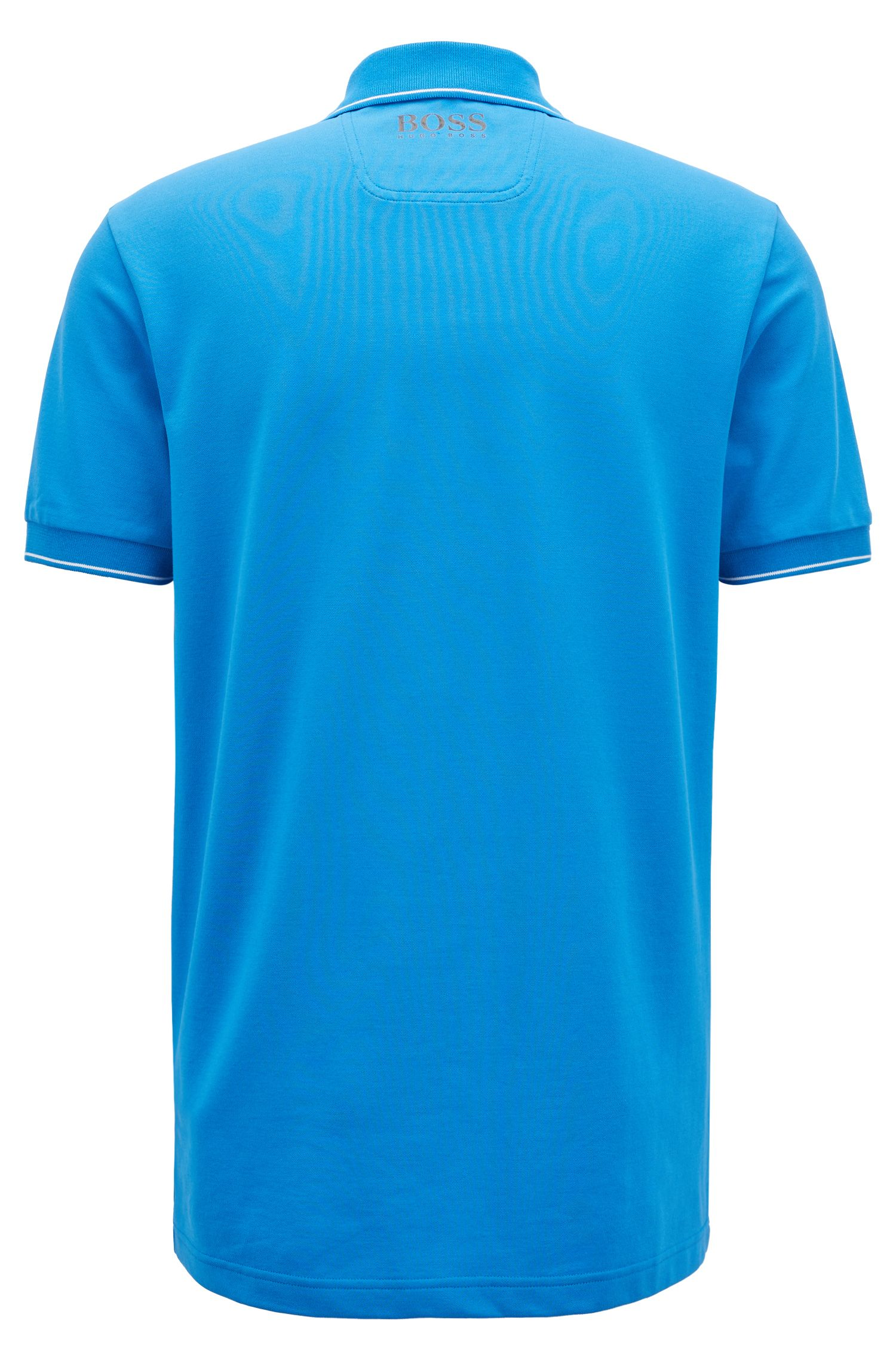 Hugo Boss - Slim-fit polo shirt with moisture-management - 3