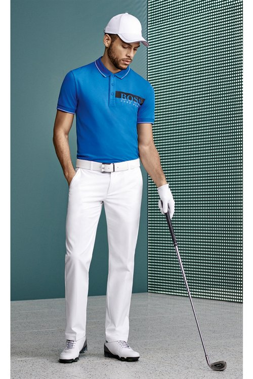 Hugo Boss - Slim-fit polo shirt with moisture-management - 4