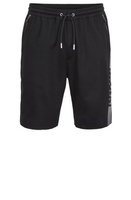 HUGO BOSS Short Slim Fit en coton mélangé aux propriétés d'évacuation de l'humidité JwWbc