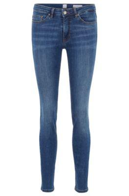 biker jeans dame