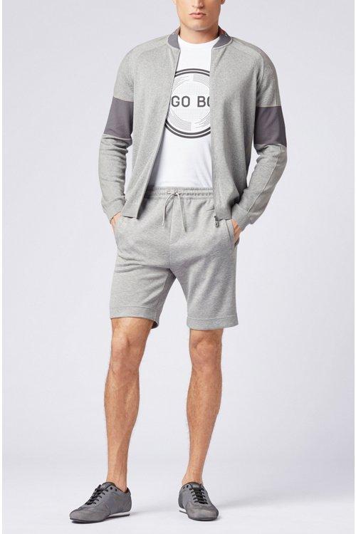 Hugo Boss - T-shirt imprimé à manches courtes en jersey simple de coton - 2