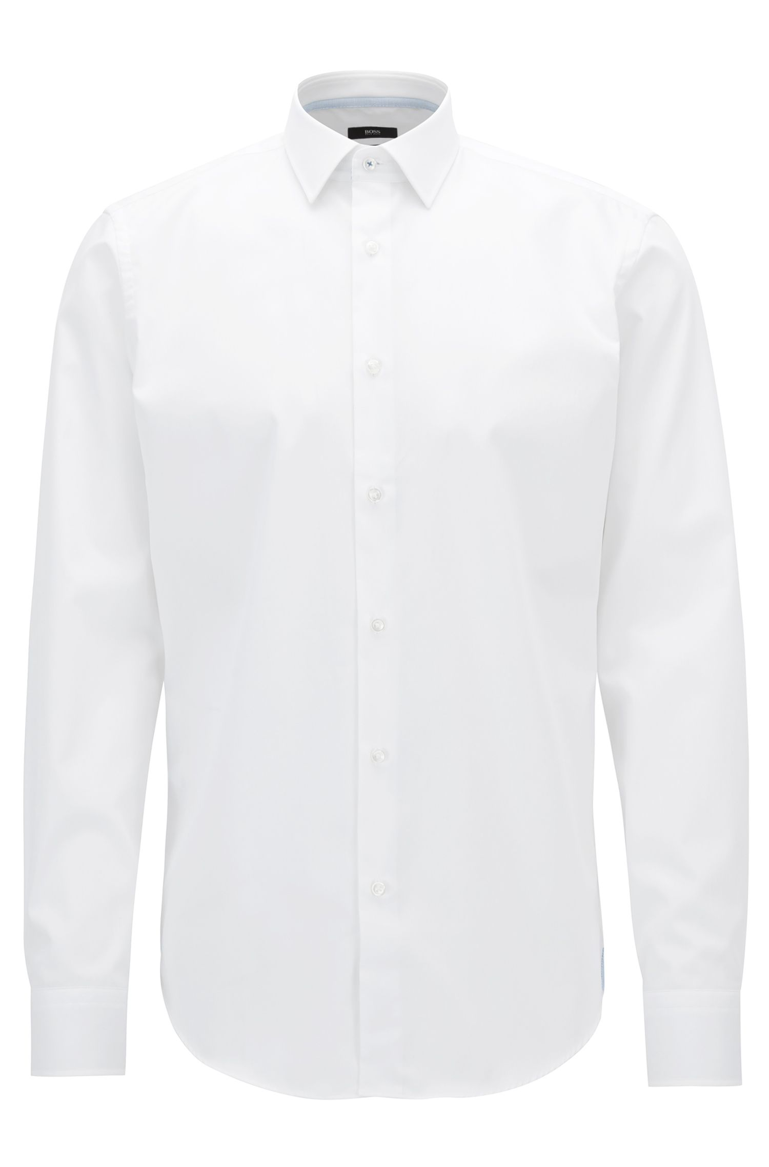 Chemise Regular Fit en coton facile à repasser