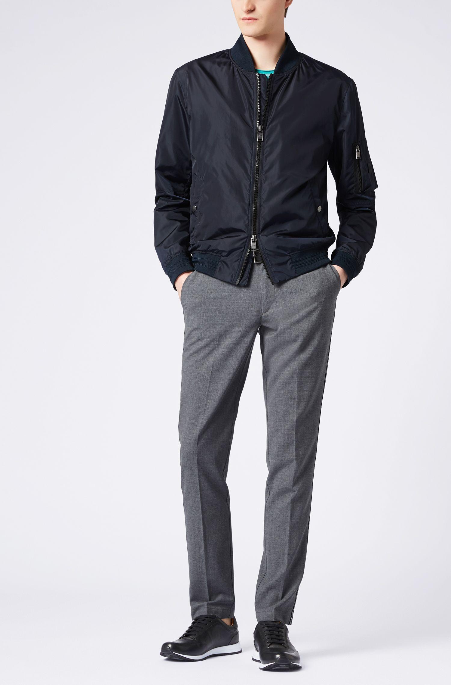 Hugo Boss - Chino Slim Fit en tissu stretch mercerisé - 2