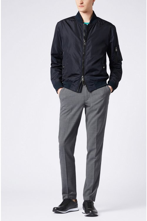 Hugo Boss - Slim-fit chinos in mercerised stretch fabric - 2