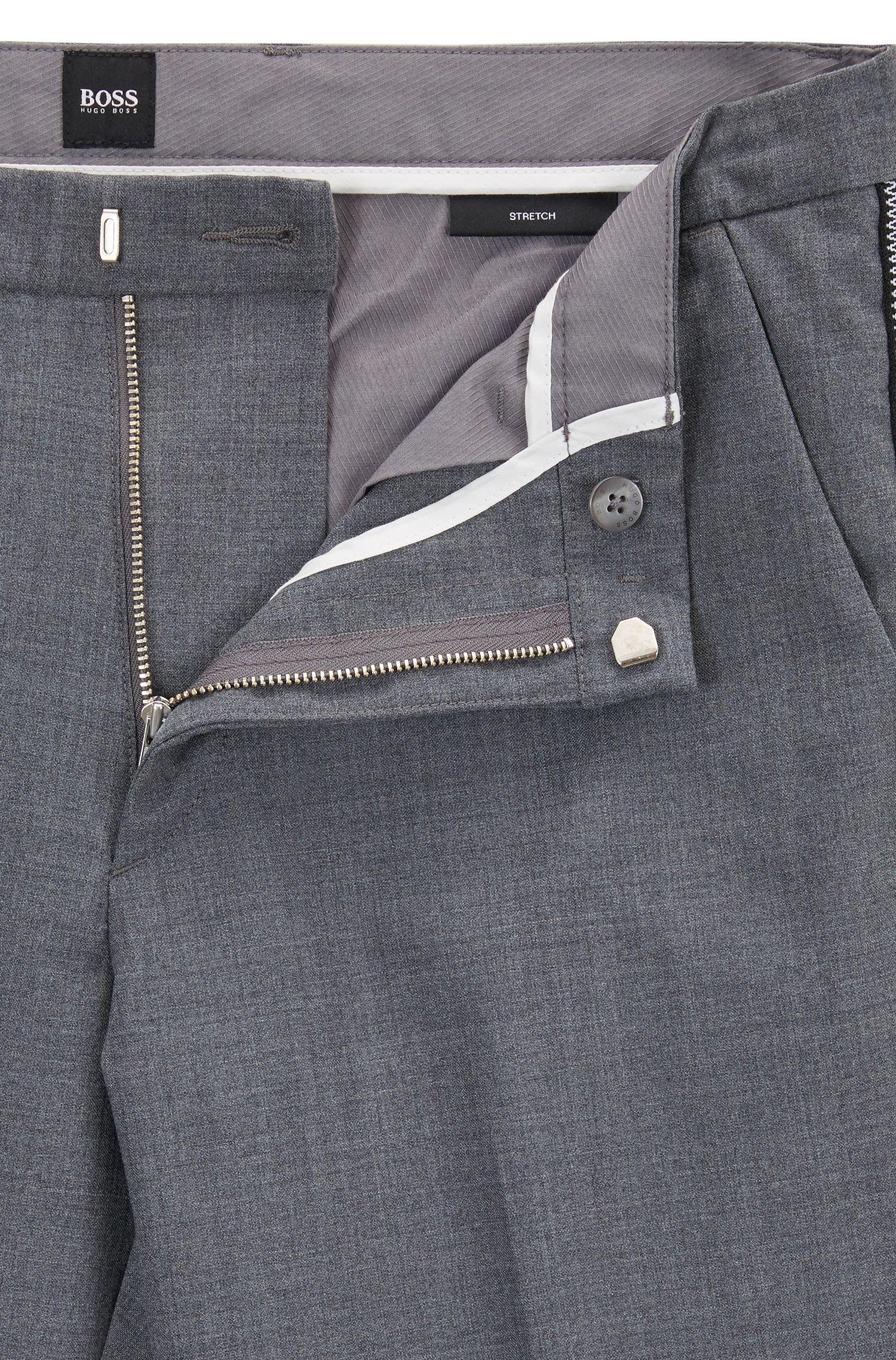 Hugo Boss - Chino Slim Fit en tissu stretch mercerisé - 4