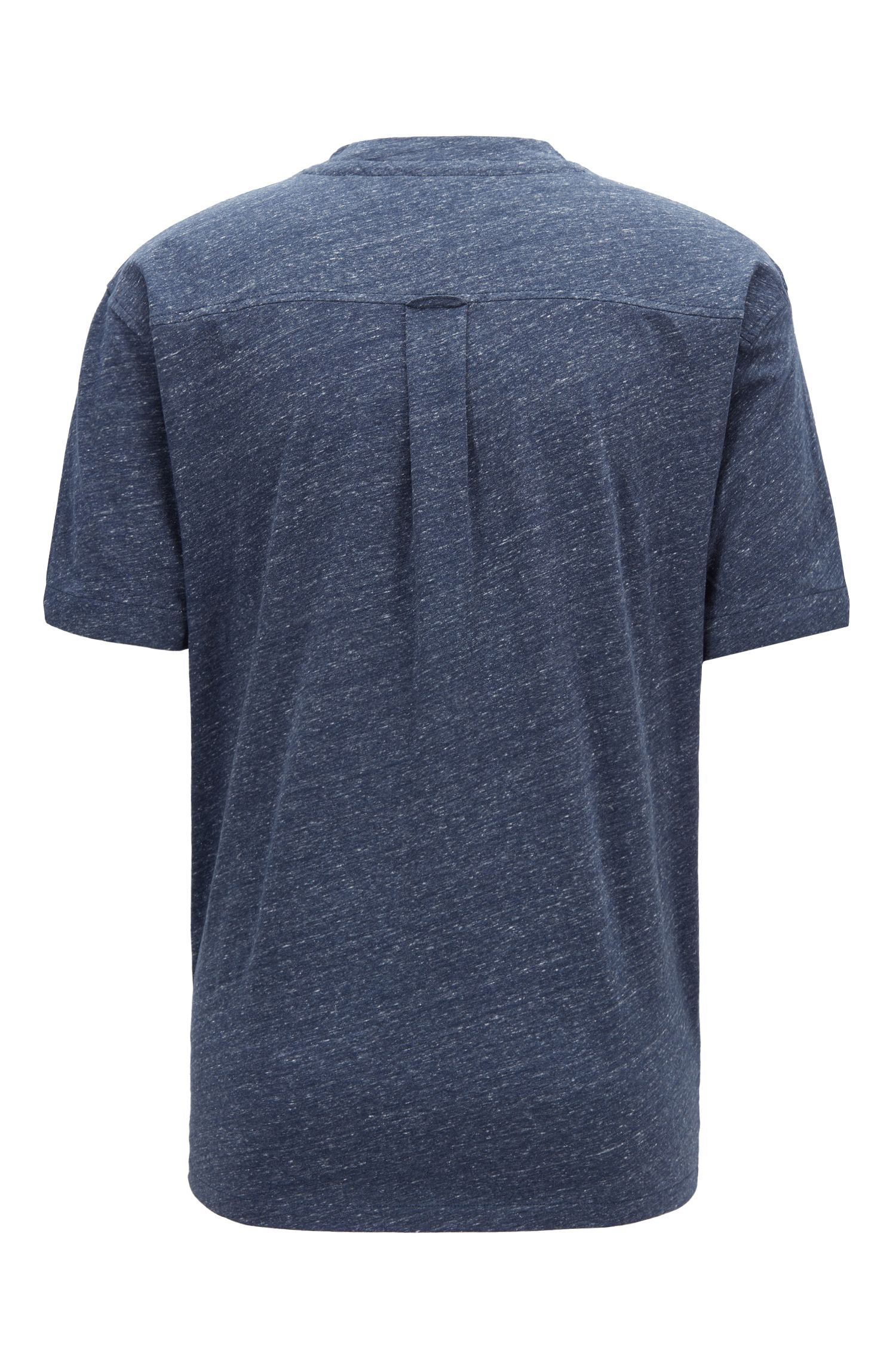 Relaxed-fit T-shirt with hybrid details