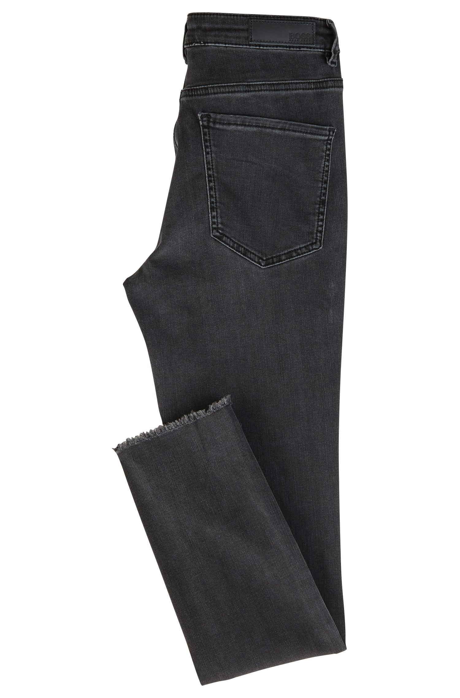 HUGO BOSS Jean court Skinny Fit en denim power-stretch
